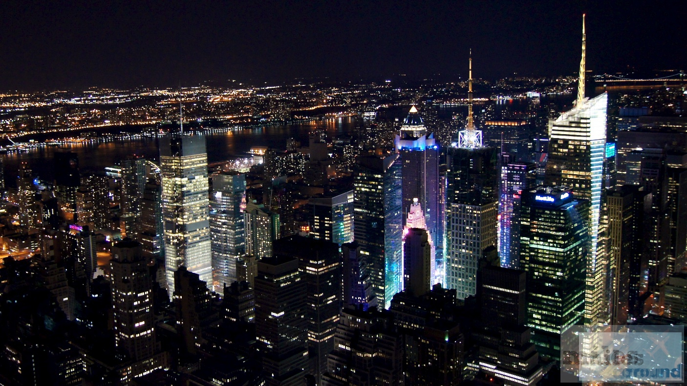 nyc empire state building bei nacht. Black Bedroom Furniture Sets. Home Design Ideas