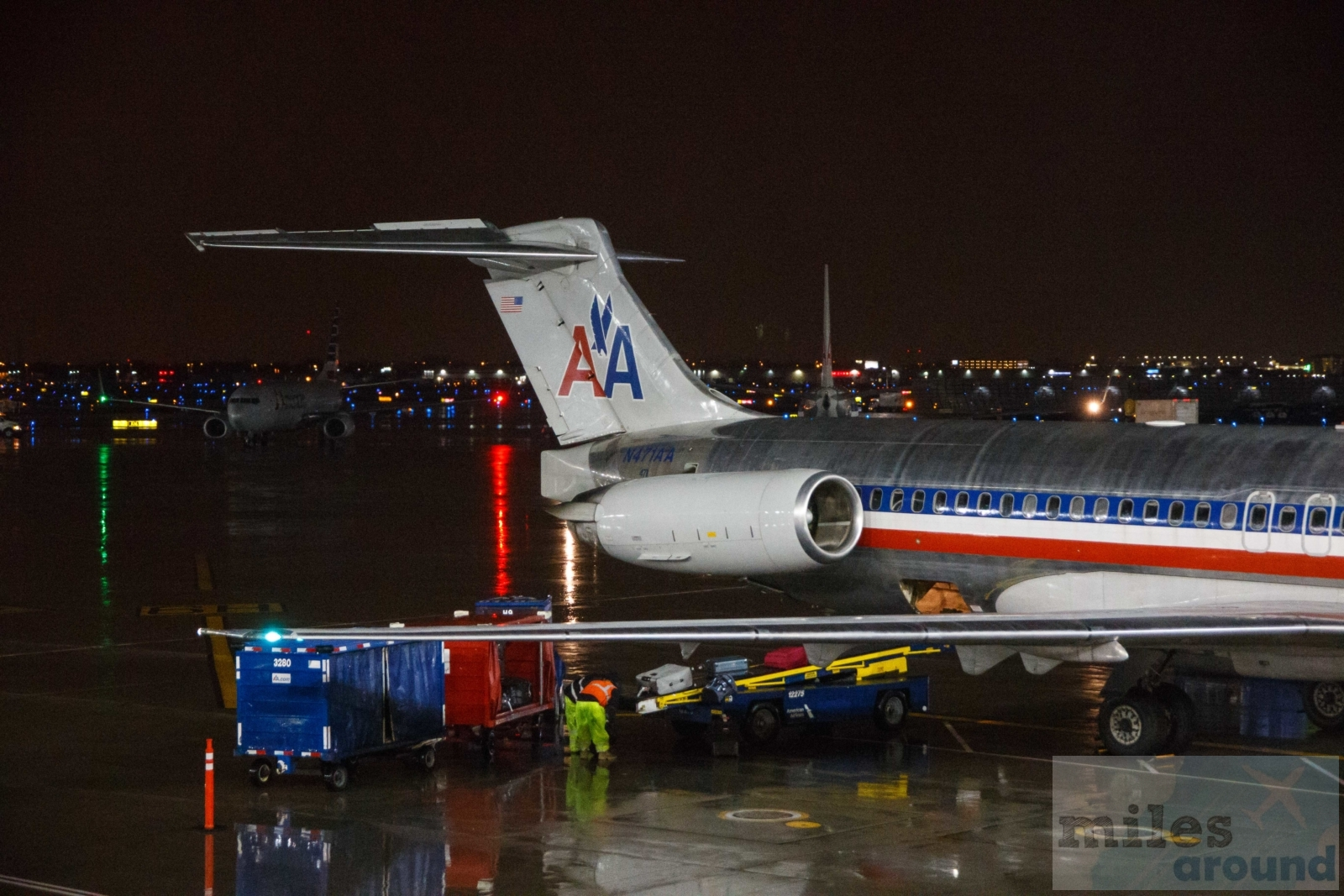 American Airlines Quot Mad Dog Quot Md 82 Chicago Nach Dallas